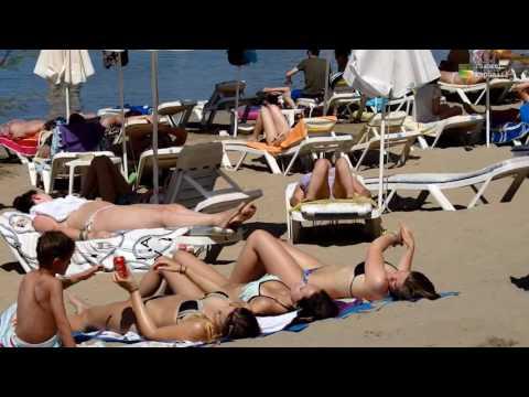 Lindos Beach Rhodes Greece June 2016