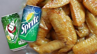7 UP or Sprite Chicken Wings | It