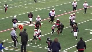 Cashmere Jones 2016 Spring Football Highlights - #10 Silk City Cardinals