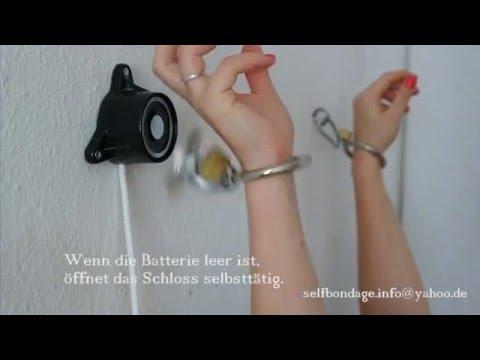 Selfbondage Timelock Magbound Wand Kunststoff