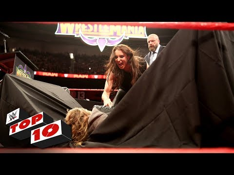Top 10 Raw moments: WWE Top 10, April 2, 2018