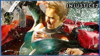 Injustice 2 - Pelicula Completa Sub Español HD | Justice League 2017 (Game Movie)