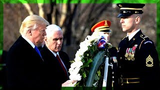FULL: President Donald Trump Speech Wreath Laying Ceremony Arlington National Cemetery Memorial Day