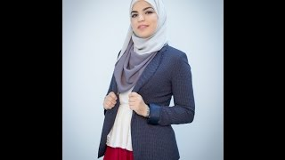 OMG Tuesday: A quick hijab tutorial for your work on Tuesday