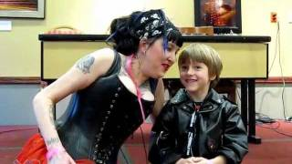 Fun with My son at the Electric City Tattoo Convention 2011