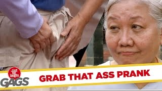 Grabbing Butts PRANK - JFL Gags Asia Edition