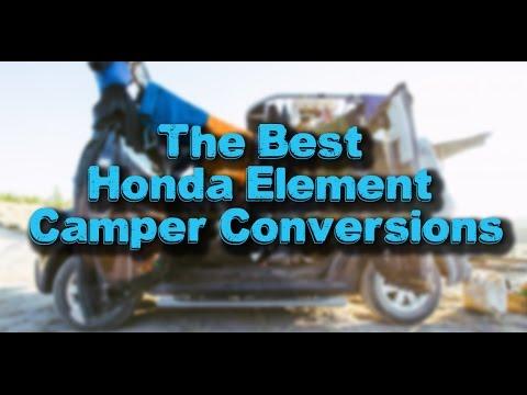 The Best Honda Element Camper Conversions
