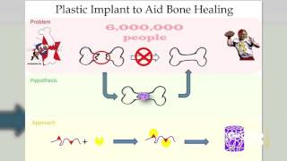 Plastic Implant to Aid Bone Healing