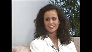 Miss Universe Norway 1991 : Lene Marie Pedersen (presentation and Interview)