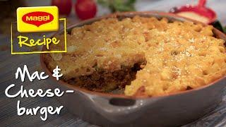 Mac and Cheeseburger Recipe. MAGGI Recipes