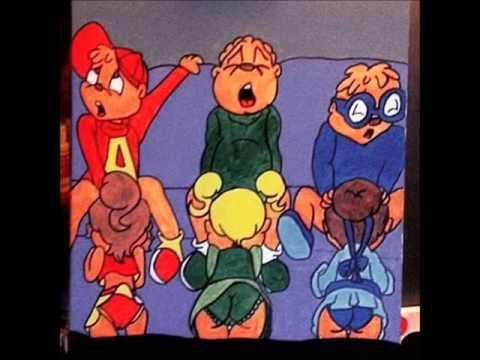 The Chipmunks XXX painting by Del Antonio