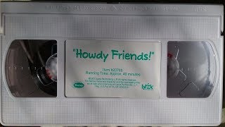 Barney - Howdy, Friends (2001 VHS Rip)