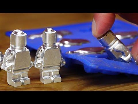 DIY Metal Lego Style Figures using Gallium