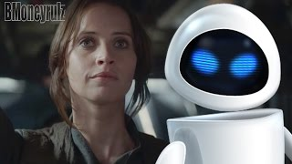'Rogue One: A Star Wars Story': Wall-E Mash-Up Trailer Parody