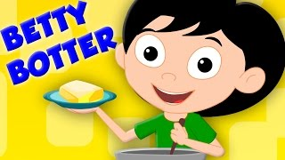Betty Botter Bought Some Butter | Kids TV Nursery Rhymes For Kids | Baby Songs kids tv