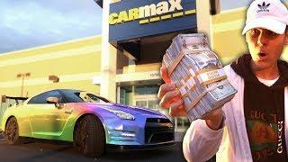 SELLING MY DREAM CAR FOR FAKE MONEY PRANK! ($100,000) | David Vlas