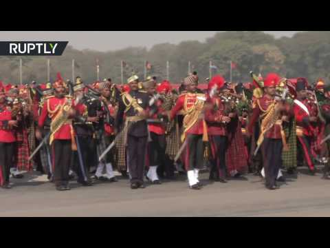 watch Military parade celebrates 69th Army Day in New Delhi