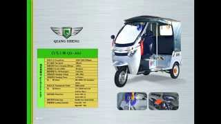 cargo electric three wheels scooter  electric trike tricycle from Qiangsheng Electric Tricycle Facto