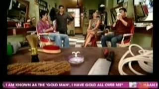 lara dutta,shahrukh khan,irfan khan,cyrus on mtv2