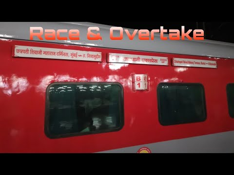 Xxx Mp4 Race Overtake All New 22222 CSTM RAJDHANI EXPRESS Indian Railways 3gp Sex