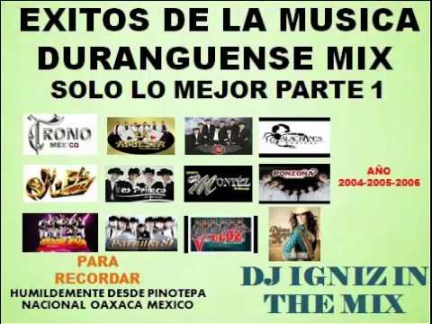 Grandes Exitos De La Musica Duranguense Mix Parte 1 Para Bailar (Año 2004-2005-2006)
