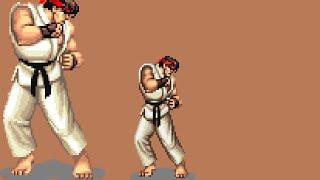 Street Fighter II - ARCADE/SNES Side by side at 60fps