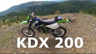 KDX 200 Review