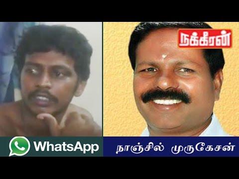 Xxx Mp4 ADMK MLA Nanjil Murugesan S Son Controversial Talk Against Jayalalitha Whatsapp Video 3gp Sex