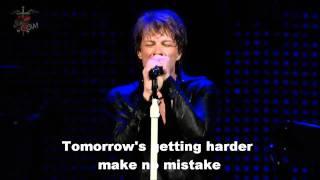 Bon Jovi - It's My Life (Lyrics)