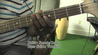 Baba - Sonnie Badu || Bass Guitar Tutorial by David Oke (AGS)