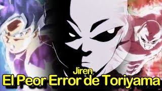 Jiren: El PEOR ERROR de Toriyama | Dragon Ball Super Capitulo 129