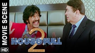 Pasta and the Kapoor brothers | Housefull 2 | Movie Scene
