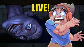 50% SCARY GAMES 50% NOT SCARY GAMES LOL [LIVE STREAM]