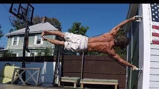 Human Flag & Handstand practice 9 10 17