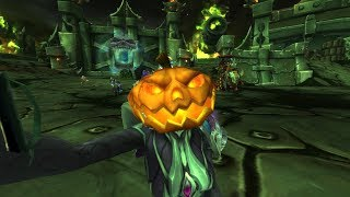 A Very Scary Hallow's End Story (WoW Machinima)
