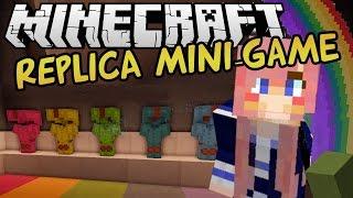 Pixel Art Race   Replica Minecraft Mini-game