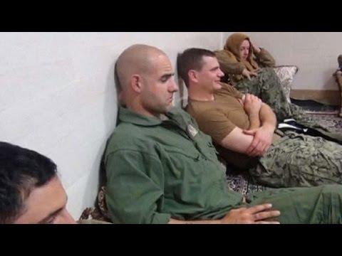 Iran releases 10 U.S. sailors after