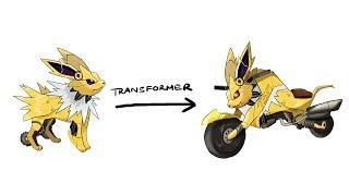 EEVEELUTIONS ( Jolteon ) - Pokemon Characters As Transformer.