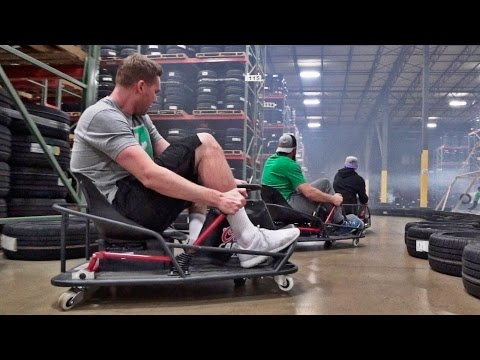 Stunt Driving Battle Dude Perfect