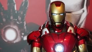 Iron Man Mark VII The Avengers Hot Toys figure review