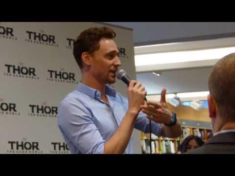 Xxx Mp4 Tom Hiddleston Talking About Tattoos Kinokuniya Sydney 2013 3gp Sex