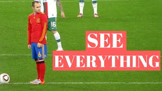 How To Play Football Like Iniesta - Soccer Awareness