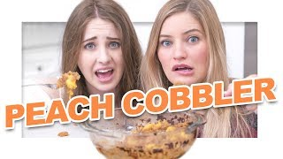 🍑 How to make Peach Cobbler - What could go wrong?