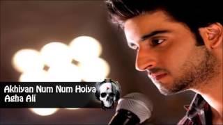 Akhiyan Num Num Hoiyan - Agha Ali