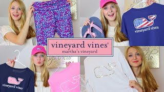 Vineyard Vines Collection | PREPPY HAUL!