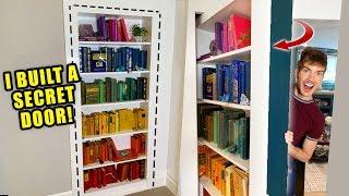 I Built A Secret Bookshelf Door In My House