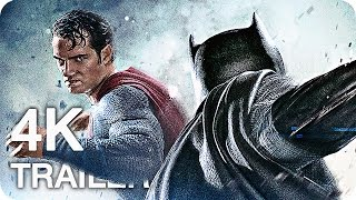 BATMAN v SUPERMAN Trailer, Film Clips & Featurettes 4K UHD (2016) Dawn of Justice
