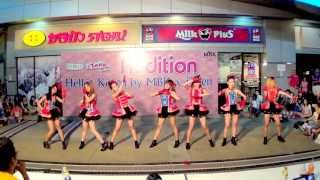 130630 Def-G cover T-ara - Sexy Love @Hello! Korea by MBK & iTeen (Audition)