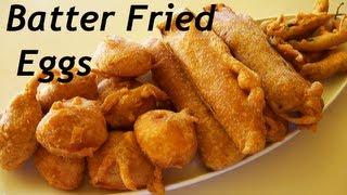 Batter Fried Eggs / বেসনে ভাজা ডিম (Beshone Bhaja Deem) [English Subtitles]