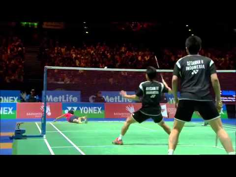 Xxx Mp4 Badminton Highlights Ahsan Setiawan Vs Endo Hayakawa All England 2014 MD Finals 3gp Sex